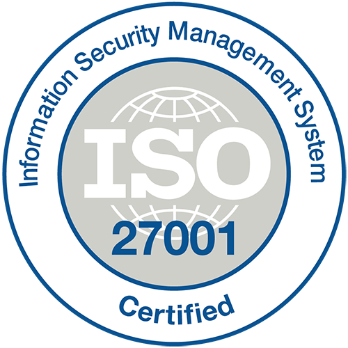 ISO27001 Stamp