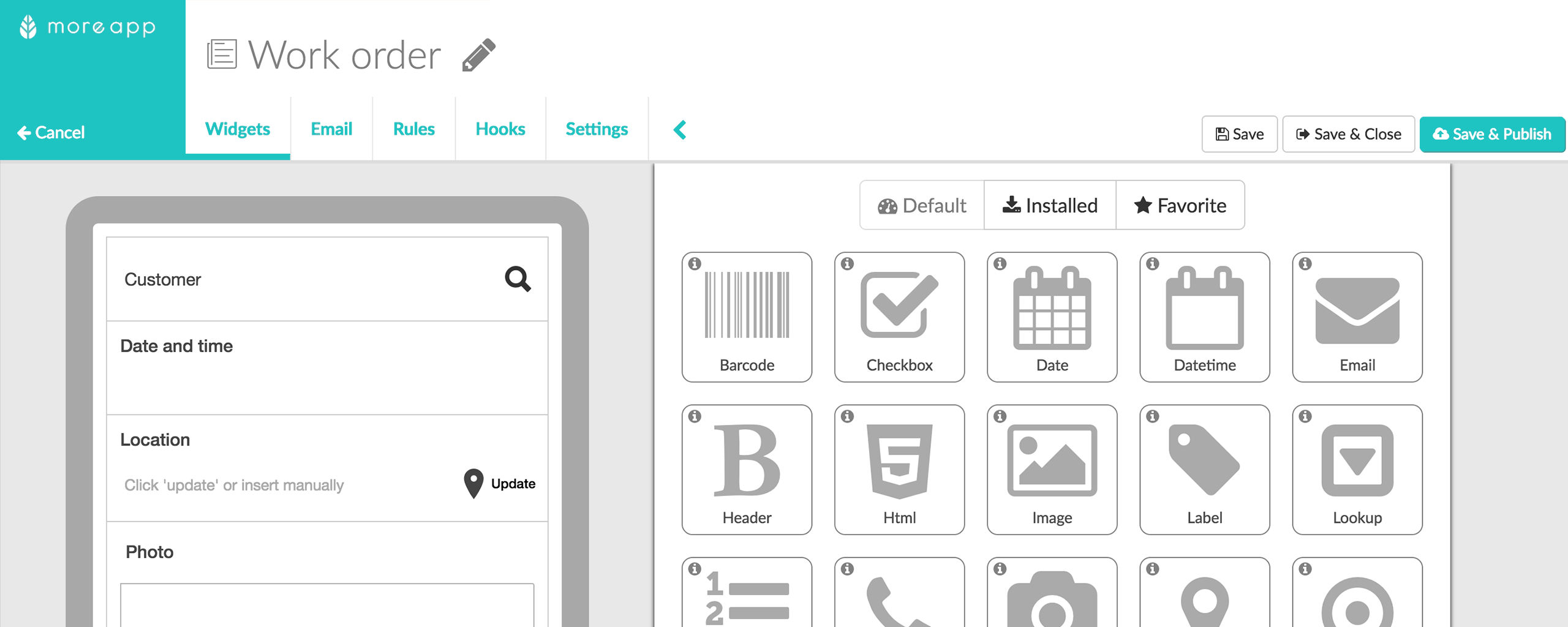 Digitise Your Forms   MoreApp Forms